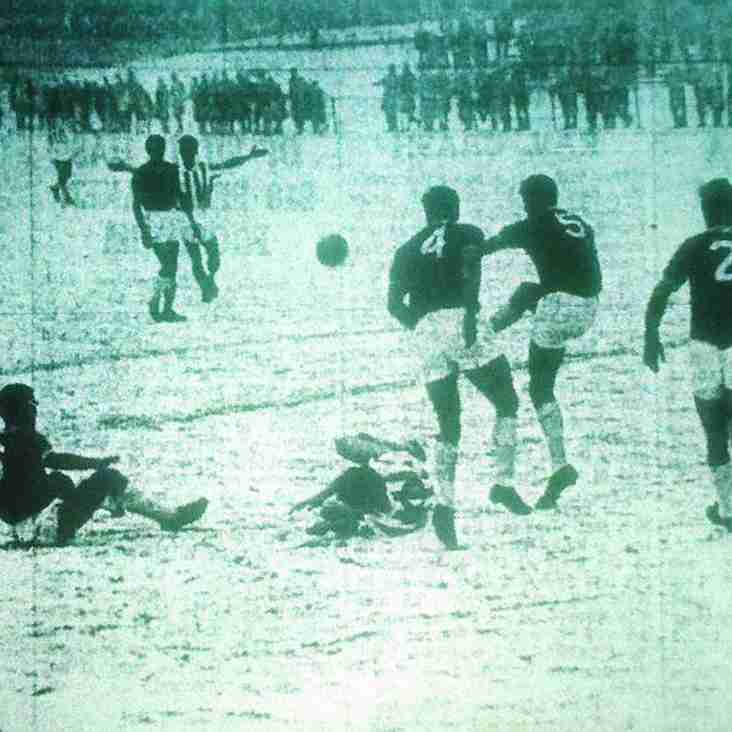 PICTURES FROM THE PAST: Football in the snow, Boxing Day 1962