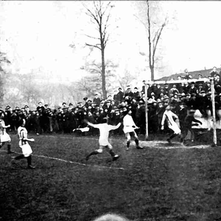 PICTURES FROM THE PAST: City take on WBA reserves, 1913