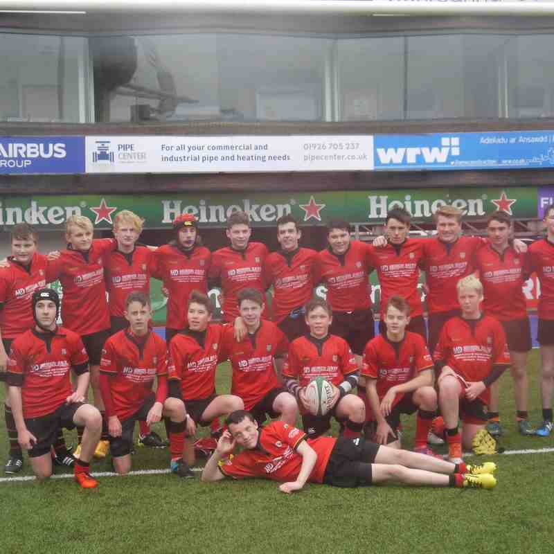 U15s at Cardiff Arms Park