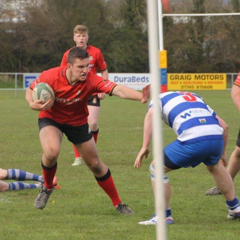 Dinbych take the spoils in tight encounter