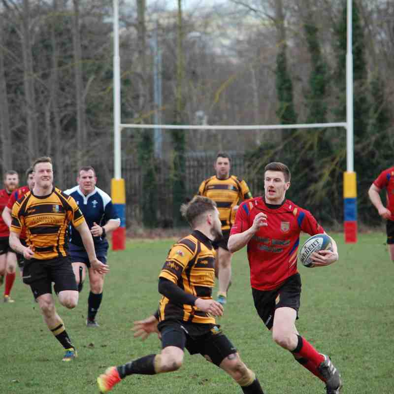 Nine try Dinbych send Men of Harlech home empty handed