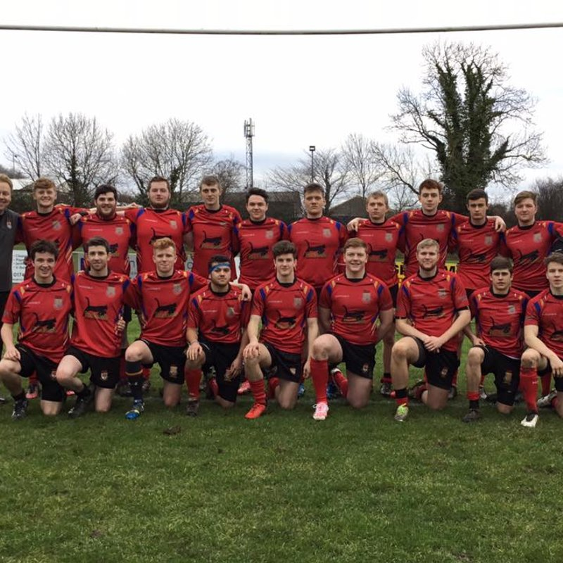 Youth Team welcome COBRA in North Wales Youth Plate