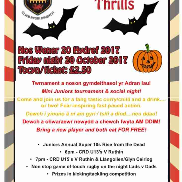 Chills and Thrills at Caeau Les Phillips this Halloween!