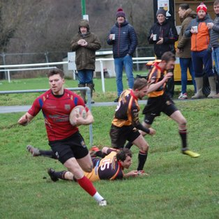 Teirw Nant unable to halt Dinbych's march to Final
