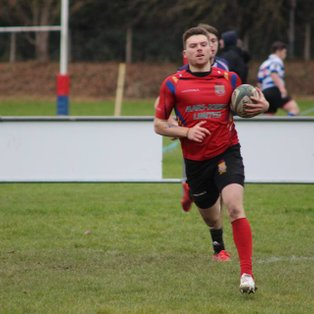 Promotion secured in eight try victory