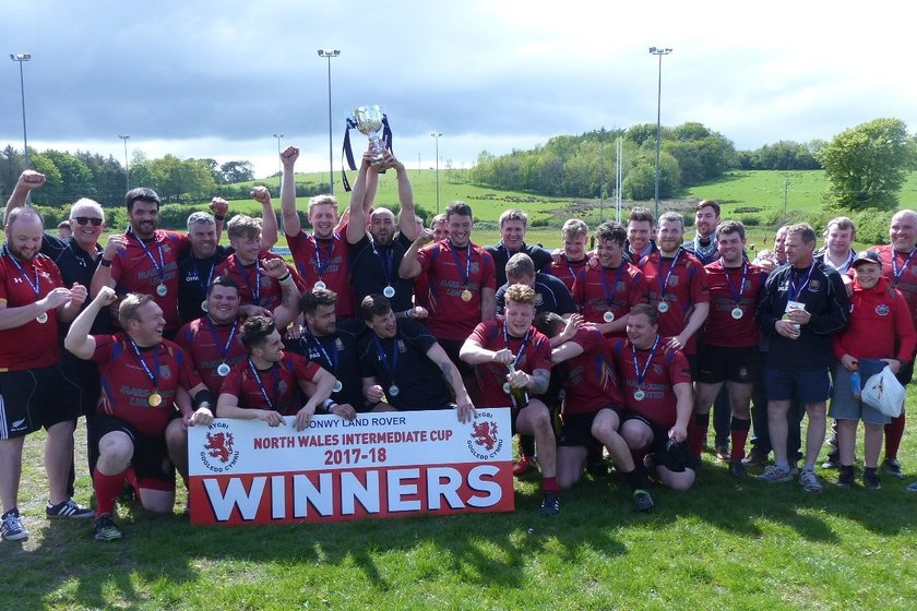 Intermediate Cup glory for Dinbych