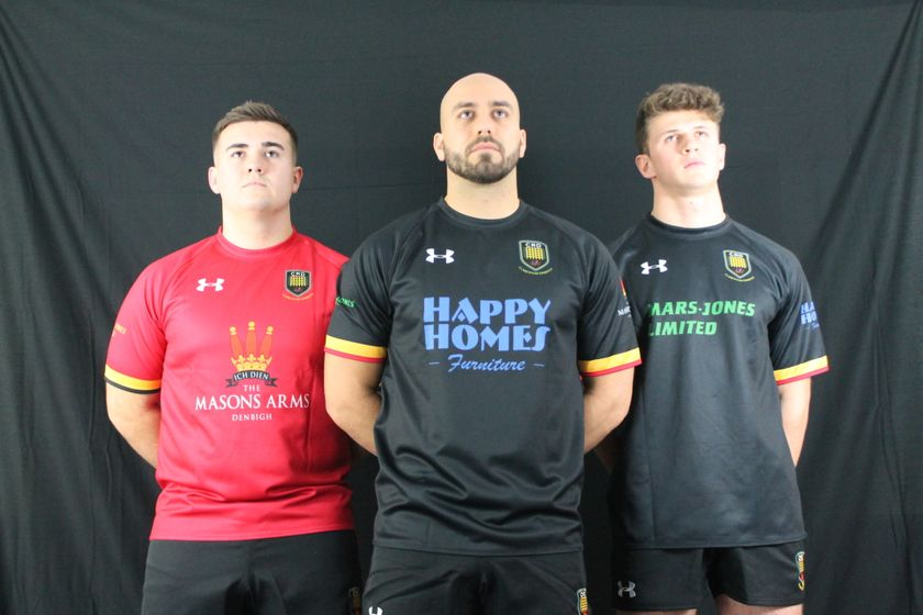 Dinbych partner up with Under Armour for 1sts, 2nds & Youth kit.