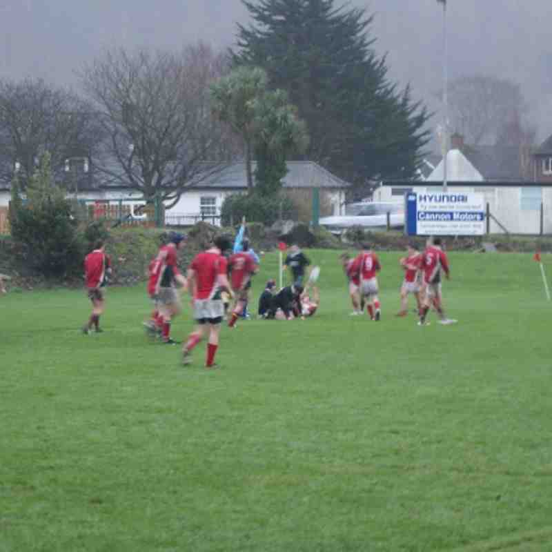 1XV Vs Holywood 2nd XV Vs Ballymena 19.12.09