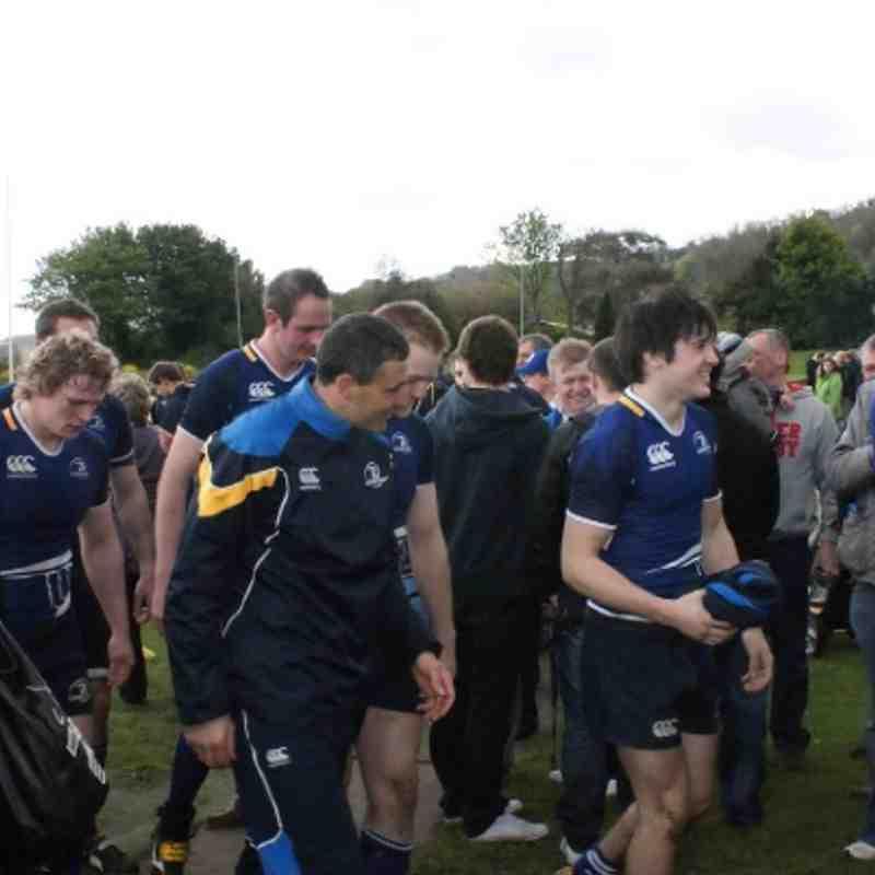 Ulster Juniors Vs Leinster Juniors 12.05.12