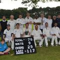 The Woodcutters Cricket Club 174/4 - 117 Kames Capital XI
