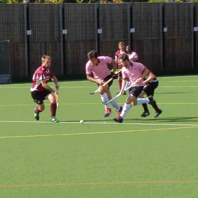 Teddington Away EHL Mens cup 1st round