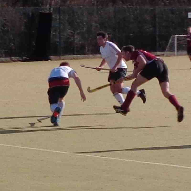 Mens 1sts Vs Tunbbidge Wells  30/01/2016