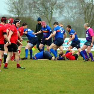 Another exhilarating game of rugby produced by Midlands 2 West (South).