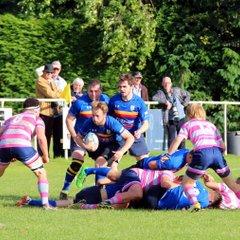 2016/17 1st XV Warwickshire Cup Leam v Olney