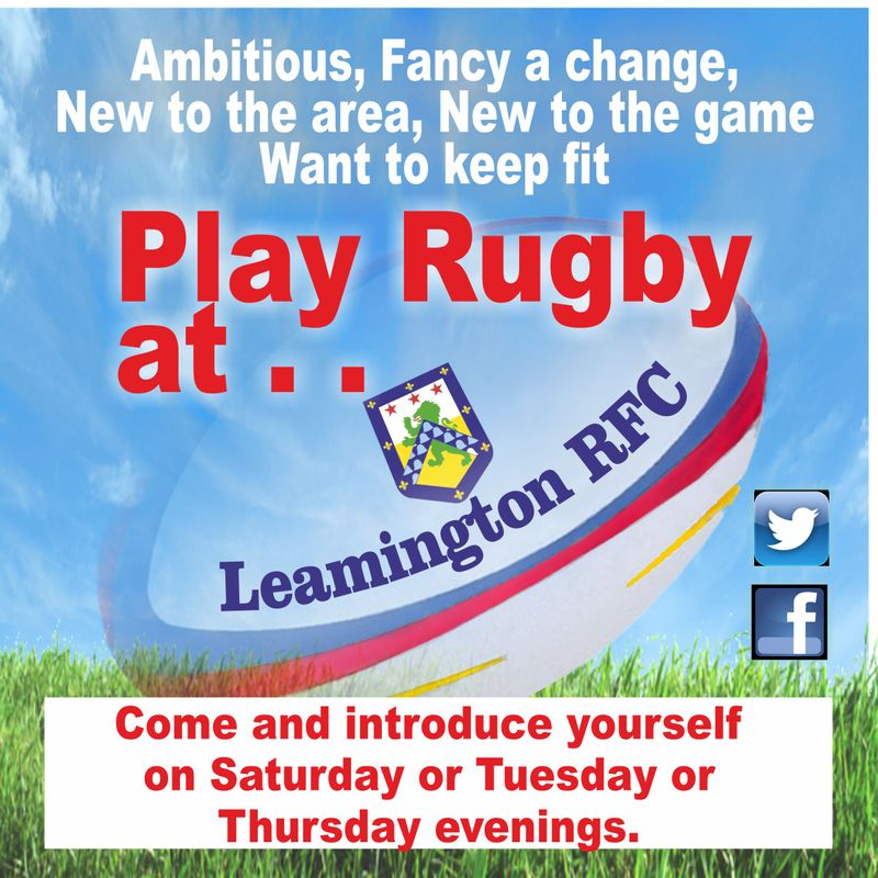 A Warm welcome at Leamington RFC for all students new to the area.