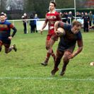 Leamington ascend the league table with a seven try haul against tough opposition