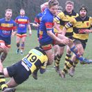 Leamington ran league leaders ragged in first half but were unable to sustain their onslaught