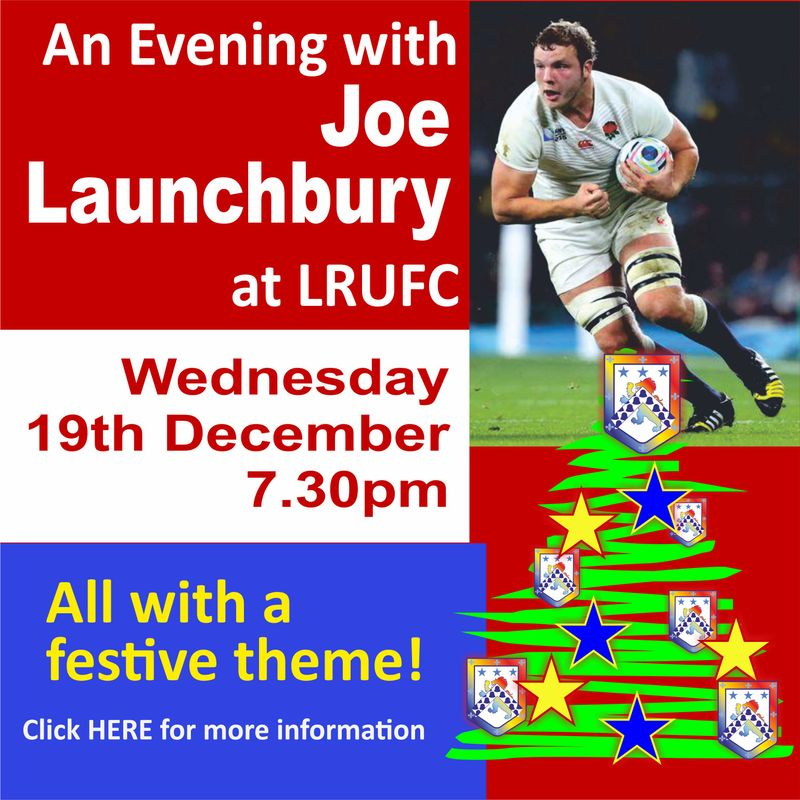 An Evening with Joe Launchbury