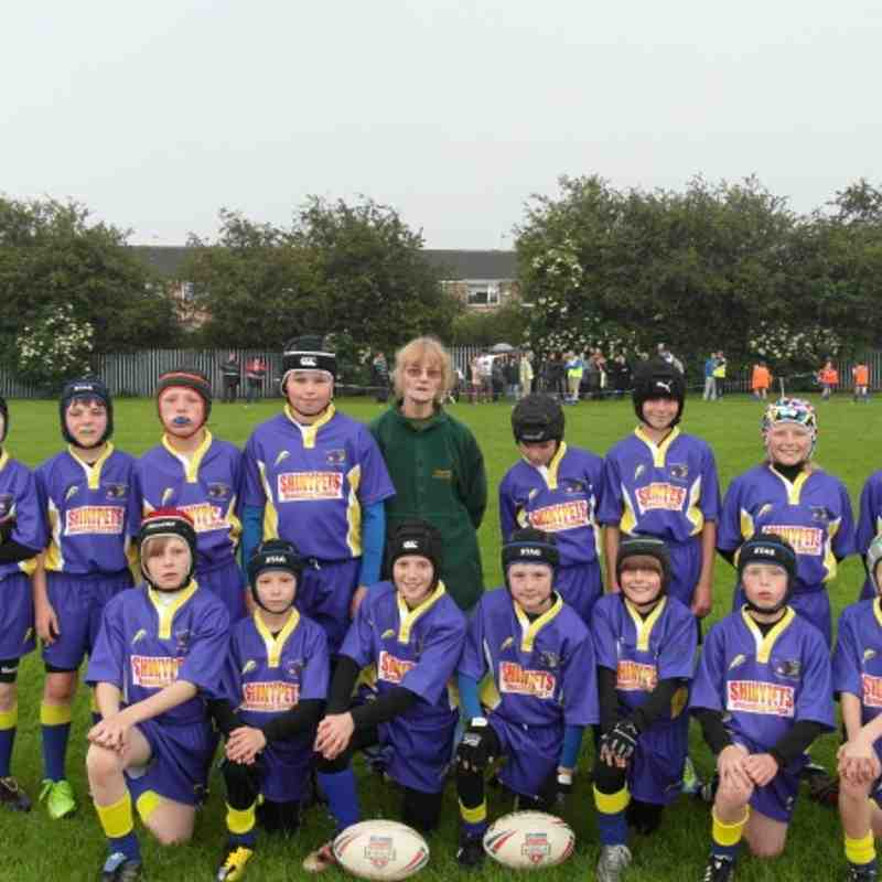 Under 10's 2012 new kit