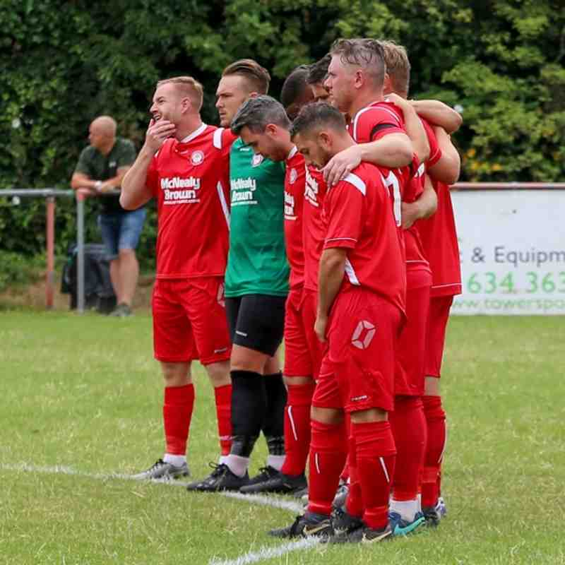 Hollands and Blair 2 Whitstable Town 2 (13/07/19)