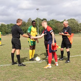 Fleet Spurs 4 Godalming Town 2 (Combined Counties League Division 1)
