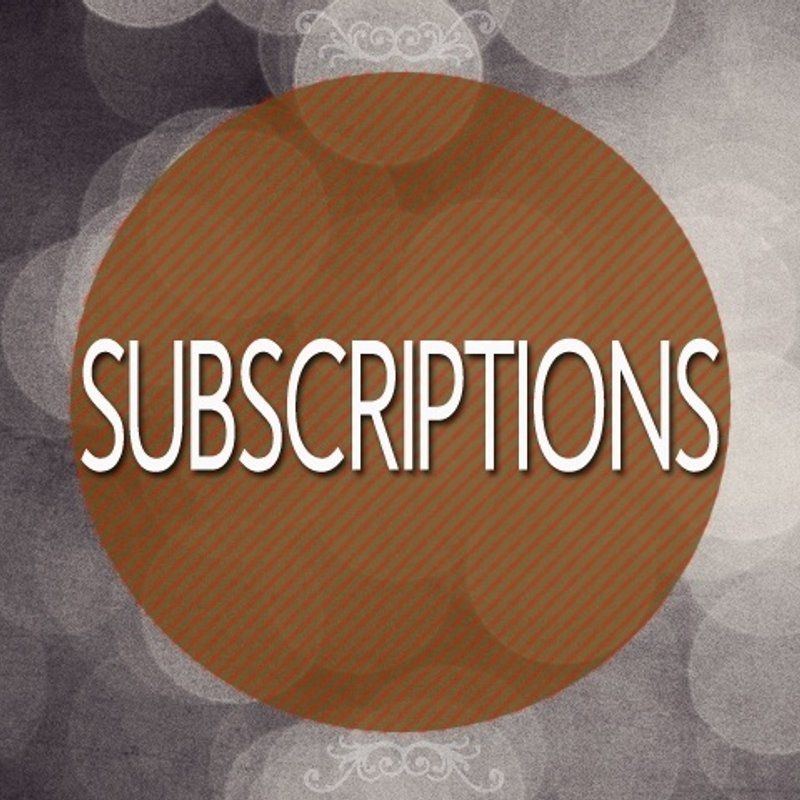 POTTERS BAR SUBSCRIPTIONS