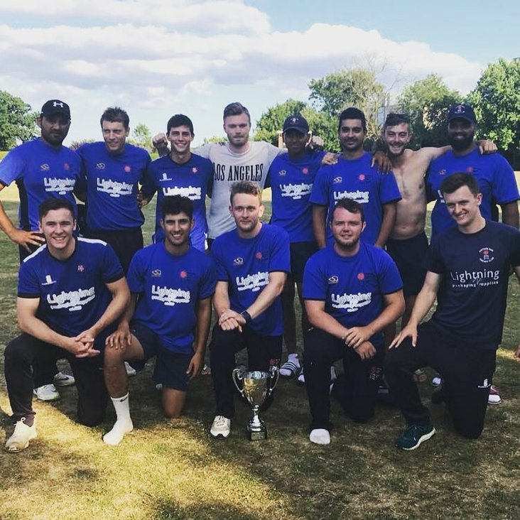 BAR ARE HERTS T20 CHAMPIONS<