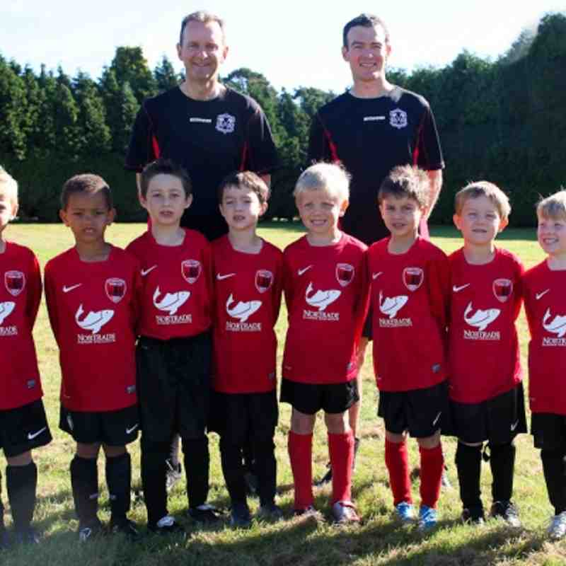 U7 Foresters Teams 2012/13