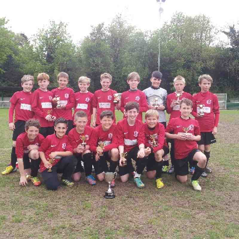 TW Foresters U12 Tandridge Cup Winners 2013