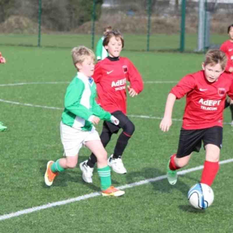 TW Foresters CDJFL U10's v Hailsham - Feb 2014