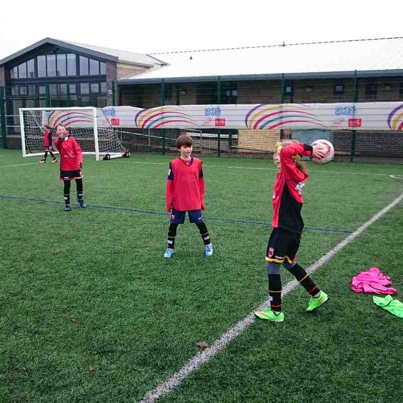 U9 Training 21 Feb 2015