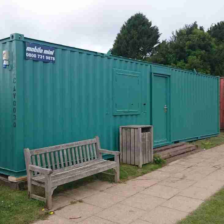 New Club Room & Containers at Bayham