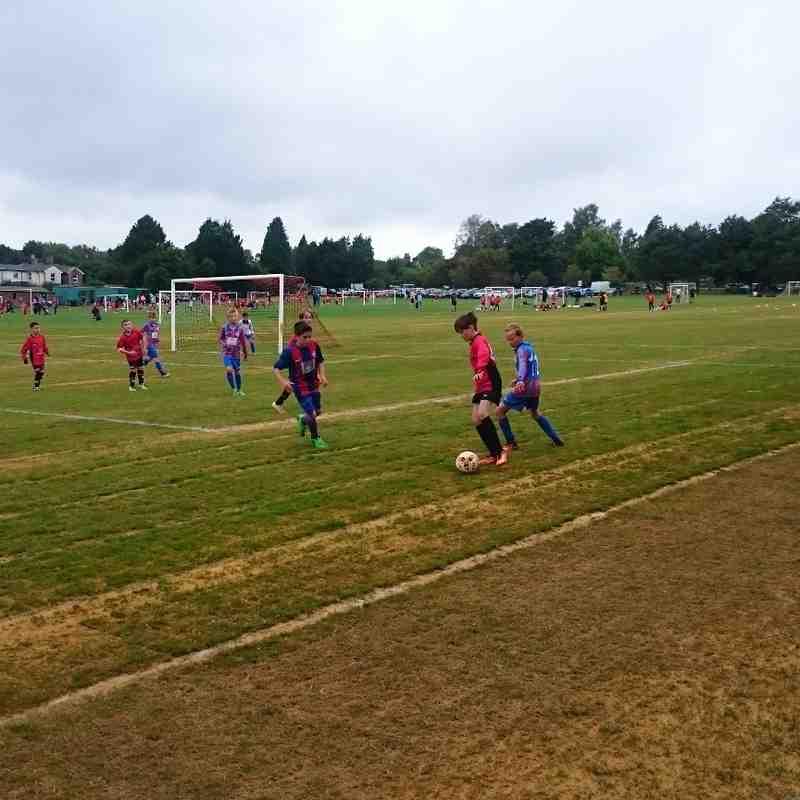U11 United 2016 v BroadOak & Horam