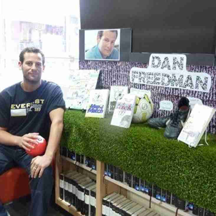 Author Dan Freedman to vist TW Foresters FC - 26 Nov