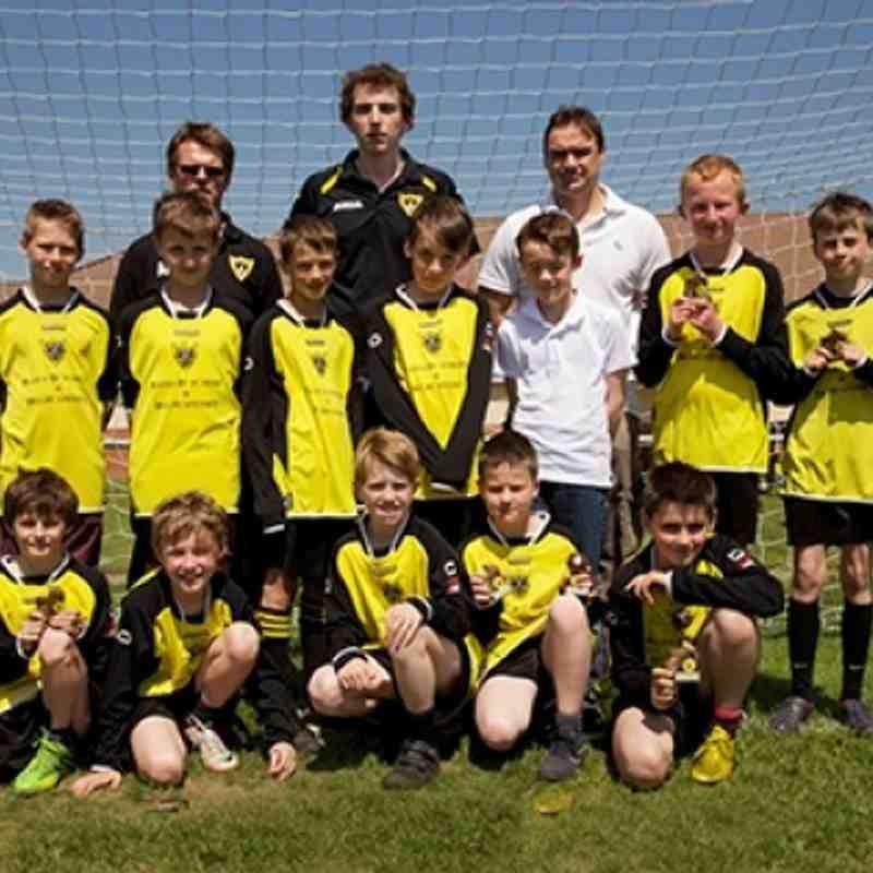 Under 12 2012 team photo