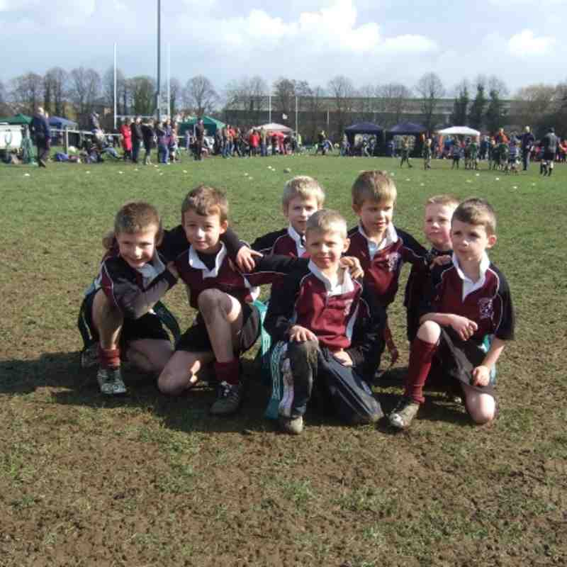 Under 7's at Derby