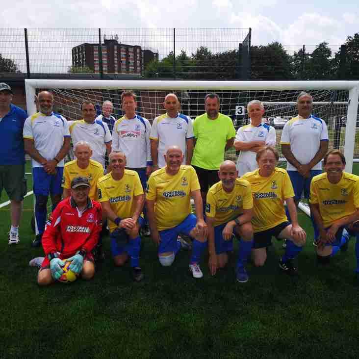 ENFIELD TOWN FC WALKING FOOTBALL TEAM-CHAMPIONS