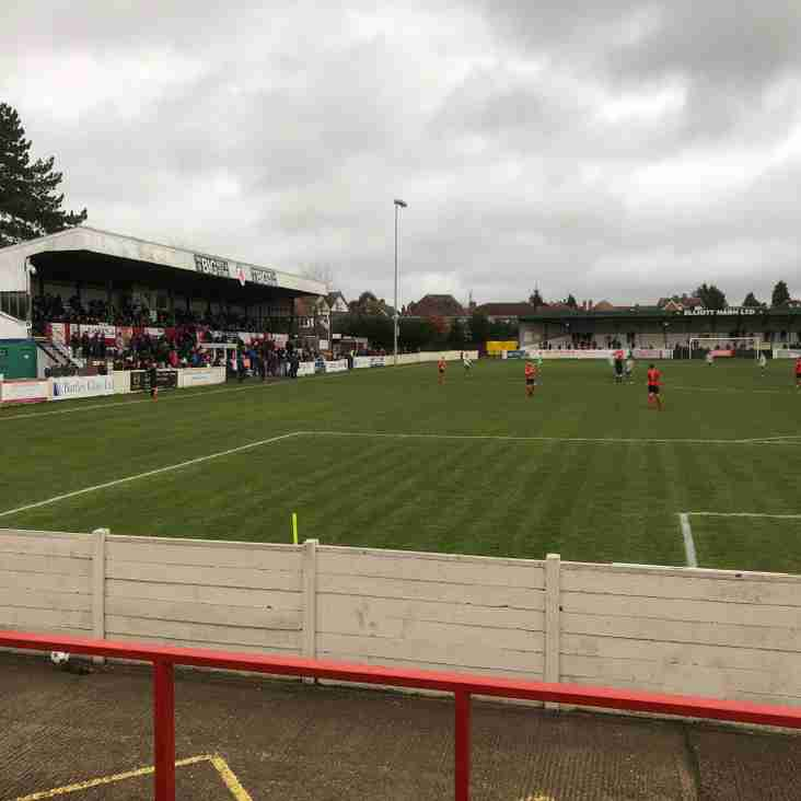 United Fall to Heavy Defeat at Bromsgrove Sporting