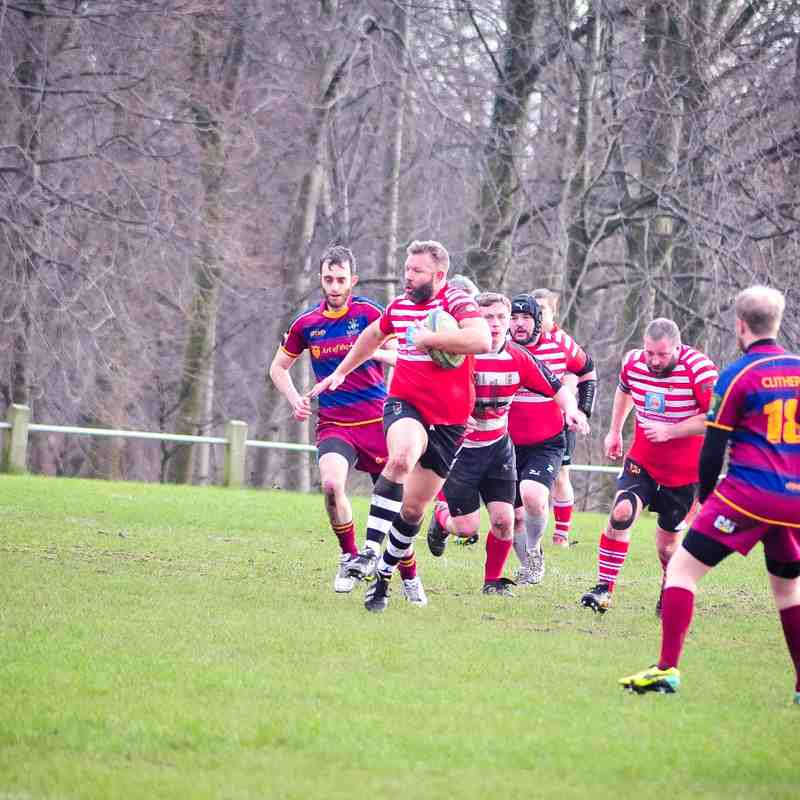 4ths vs Clitheroe 2s