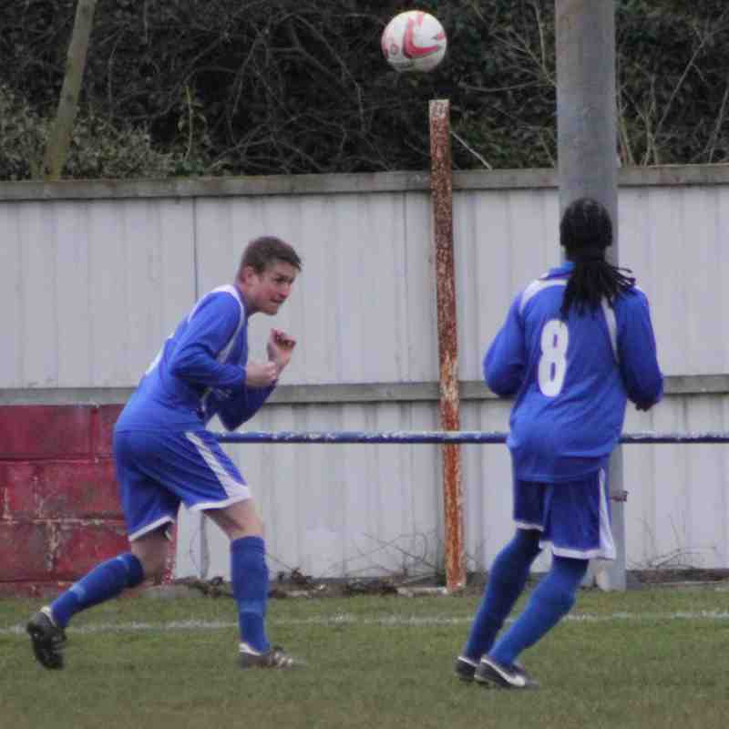 Pontefract Collieries v Yorkshire Amateur 28th Feb 2015