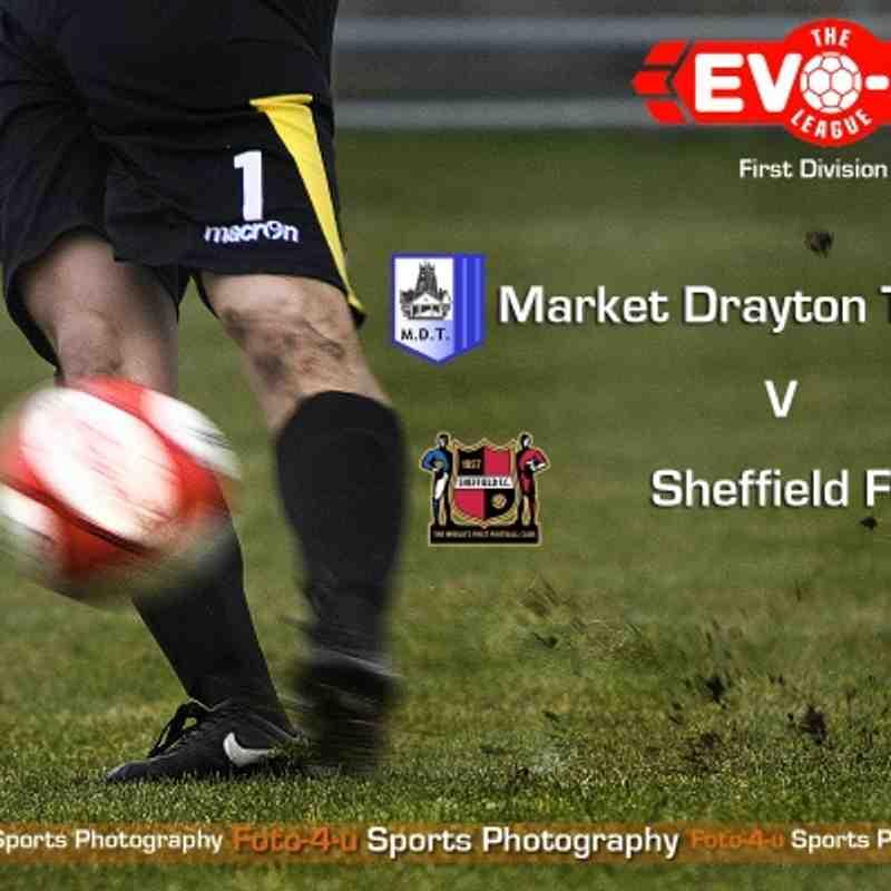 Market Drayton v Sheffield FC