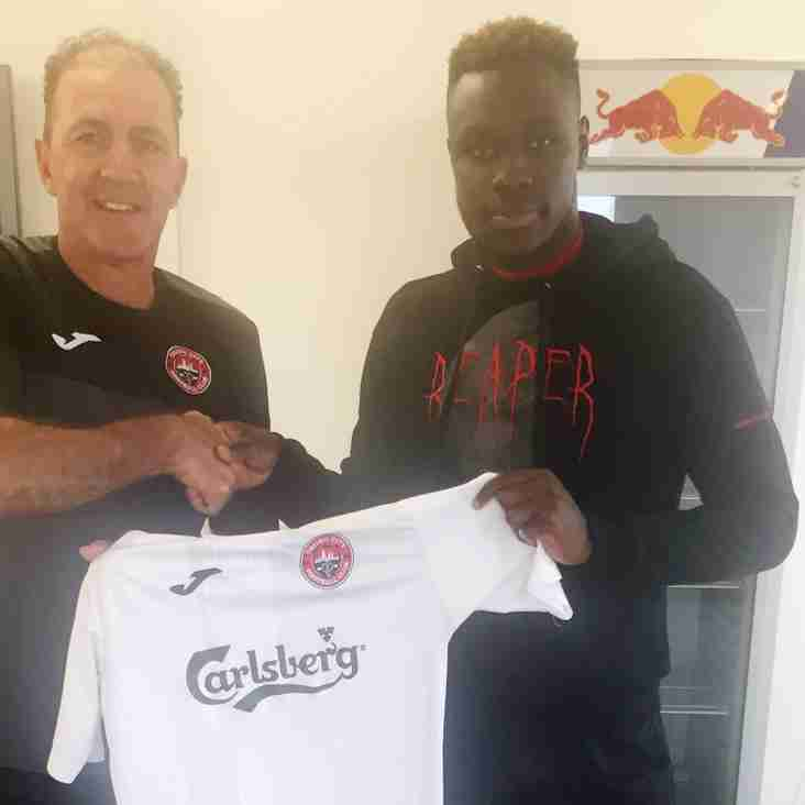 NEW SIGNING: DR Congo U21 International Defender Harlain Mbayo joins 2019 campaign