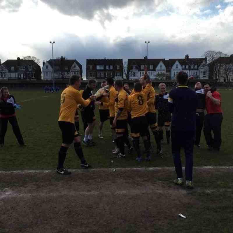 First Team v Team Bury - 30th April 2016