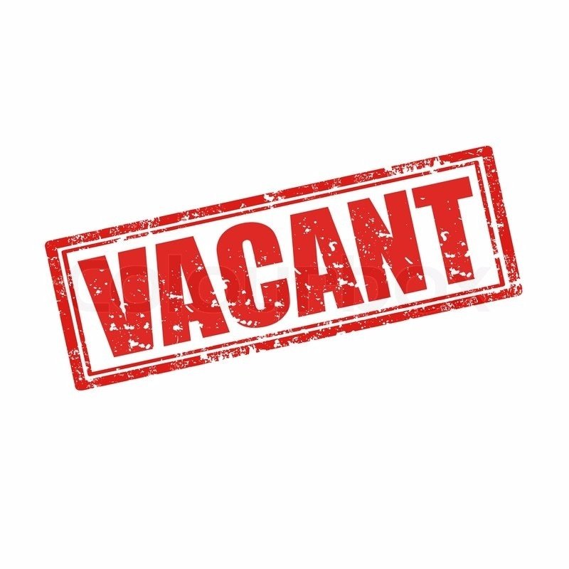 VACANCY - 1st Team Manager