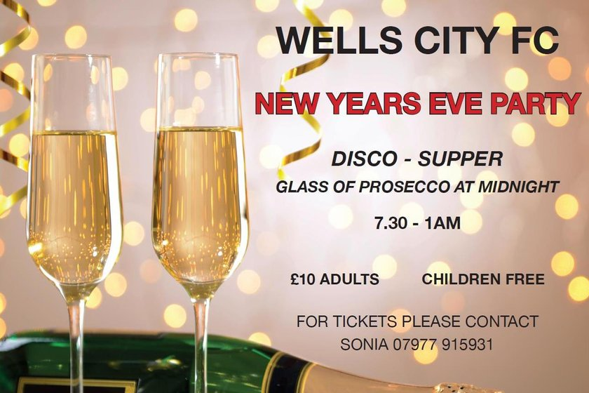 News Years Eve at Wells City Football Club
