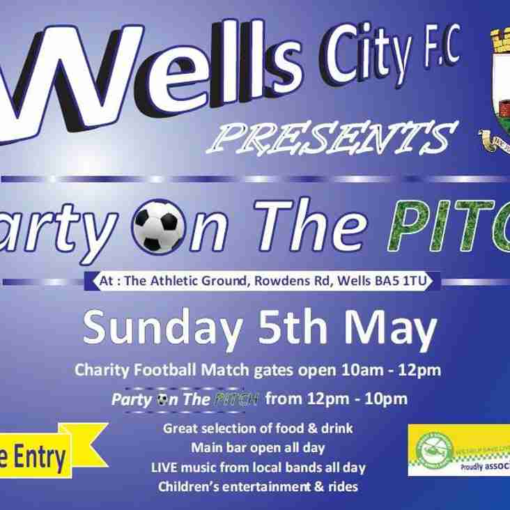 Wells City Football Club Presents.......