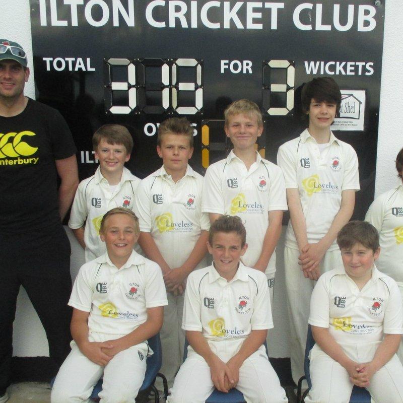 Martock 250/5 - 295/5 Ilton Cricket Club