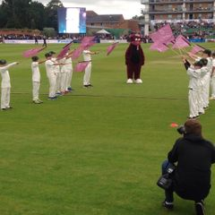 Guard of Honour - Somerset v Middlesex T20
