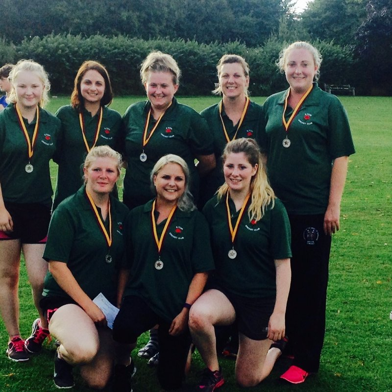 Ladies Cricket Tournament @ Marnhull CC, August 28th 2016 - RUNNERS-UP
