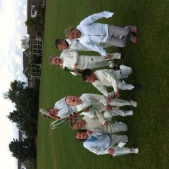 Under 9's against Shelf
